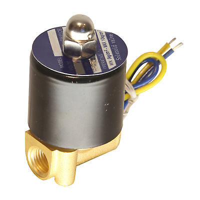 Hfsr 12v Dc 14 Electric Solenoid Valve Water Air Gas Fuels Nc - Brass