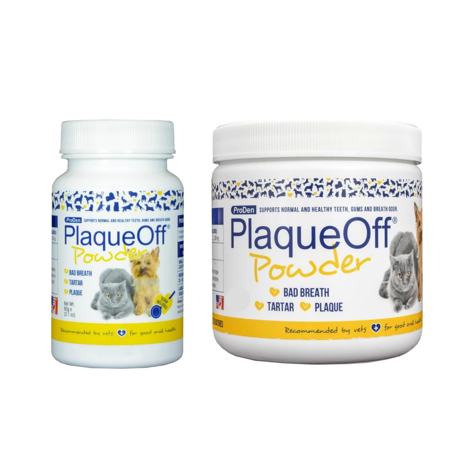 ProDen Plaqueoff for Dogs and Cats Food Additive 60gram - 180gram Two Sizes