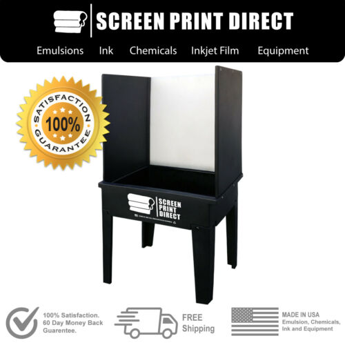 Ecotex® Screen Printing Equipment - Washout Booth Tank - Made in the USA