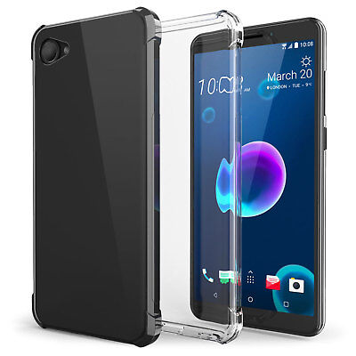 HTC Desire 12 / 12 Plus Silicone TPU Gel Case Best Tough Protective Phone