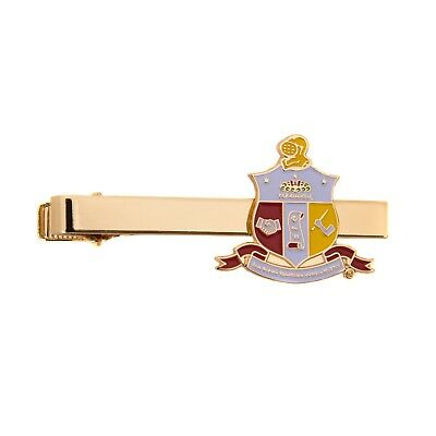 Kappa Alpha Psi Gold Color Crest Tie Bar/Clip - Brand New
