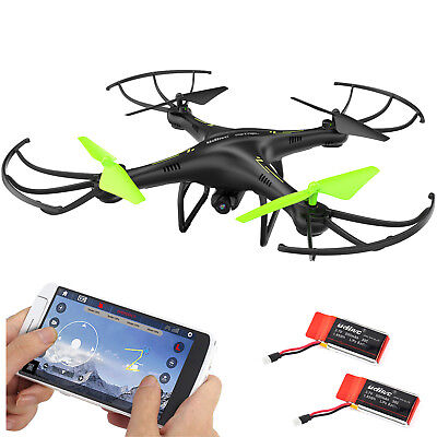 Petrel U42w Fpv Drone Rc Quadcopter W Hd Camera Live Video One Key Off   Landing