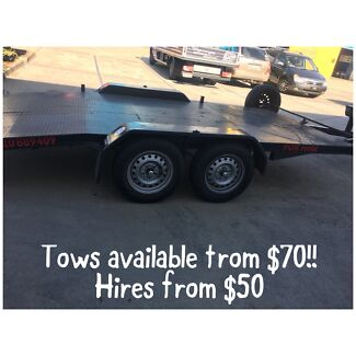 Car trailers for hire & sale