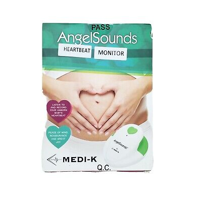 Angelsounds Fetal Doppler Baby Heartbeat Monitor Medi-k
