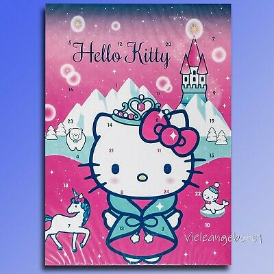 Hello Kitty B Chocolate Advent Calendar Whole Milk Chocolate Christmas Calendar