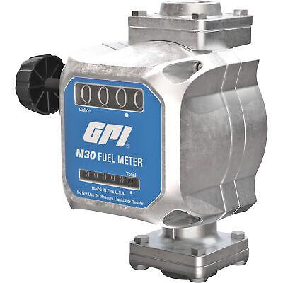 Gpi Quick-fit Mechanical Fuel Meter - 1in. Inletoutlet Model M30-g8n