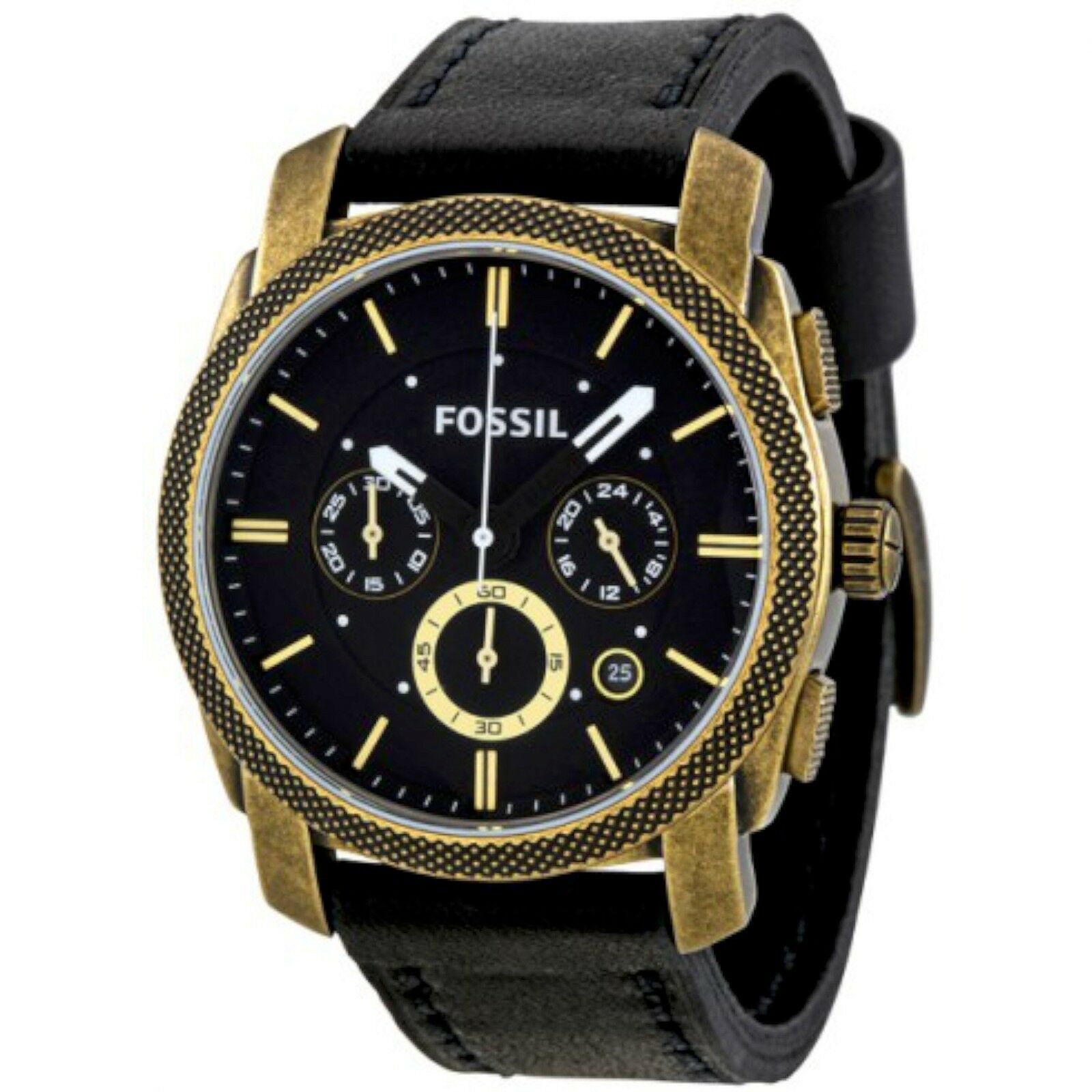 dial buy in low watches s amazon fossil men at watch dp prices india online chronograph grant black machine
