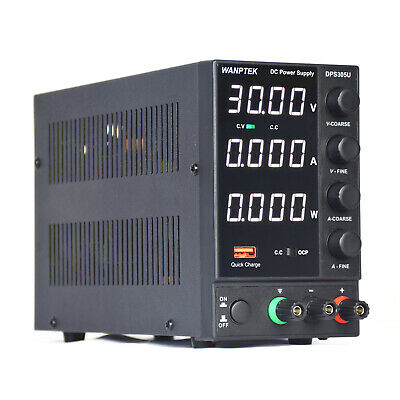 Dc Bench Power Supply Variable 0-30v 0-5a Adjustable Switching Regulated