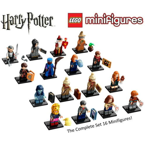 Lego Harry Potter Series 2 Collectible Minifigures Complete Set of 16 71028