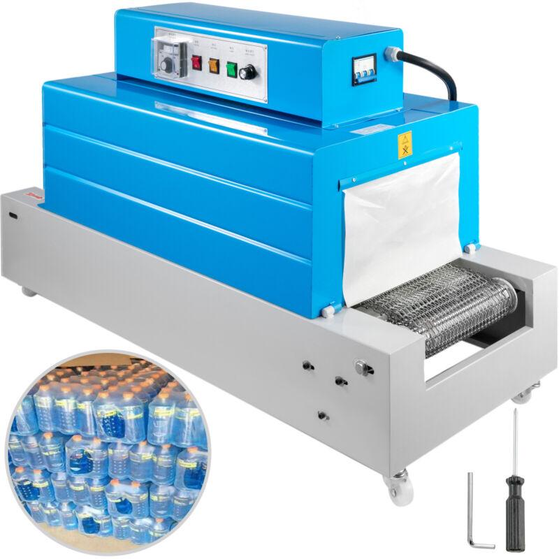 Tunnel Type Heat Shrink Wrap Machine 300mm x 200mm for PVC/POF/PE/PP Packaging
