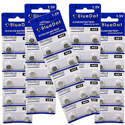 50 PACK-AG3 Batteries Battery LR41 L736 RW87 GP192 V3GA Alkaline Cell Watch