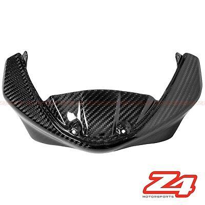 Ducati 696 796 1100 Upper Front Nose Windshield Screen Fairing Cowl Carbon Fiber