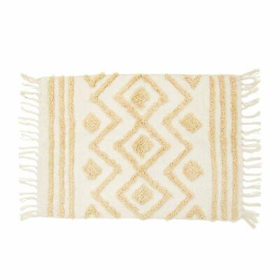 Sass and Belle Blanca Tufted Zigzag Rug Bedroom Homewares Gift