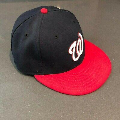 separation shoes 69538 cc9e5 Washington Nationals Baseball Cap 6-7 8     NO NEW ERA SIDE LOGO     RETRO
