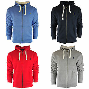 Men-039-s-Ralph-Lauren-Hooded-Sweatshirt-Sweater-Jumper-Long-Sleeve-Size-S-M-L-XL
