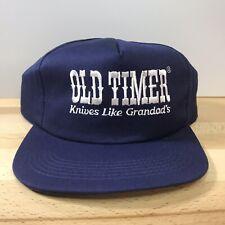 Rare & Vintage Old Timer Knives Embroidered Hat Snapback ...