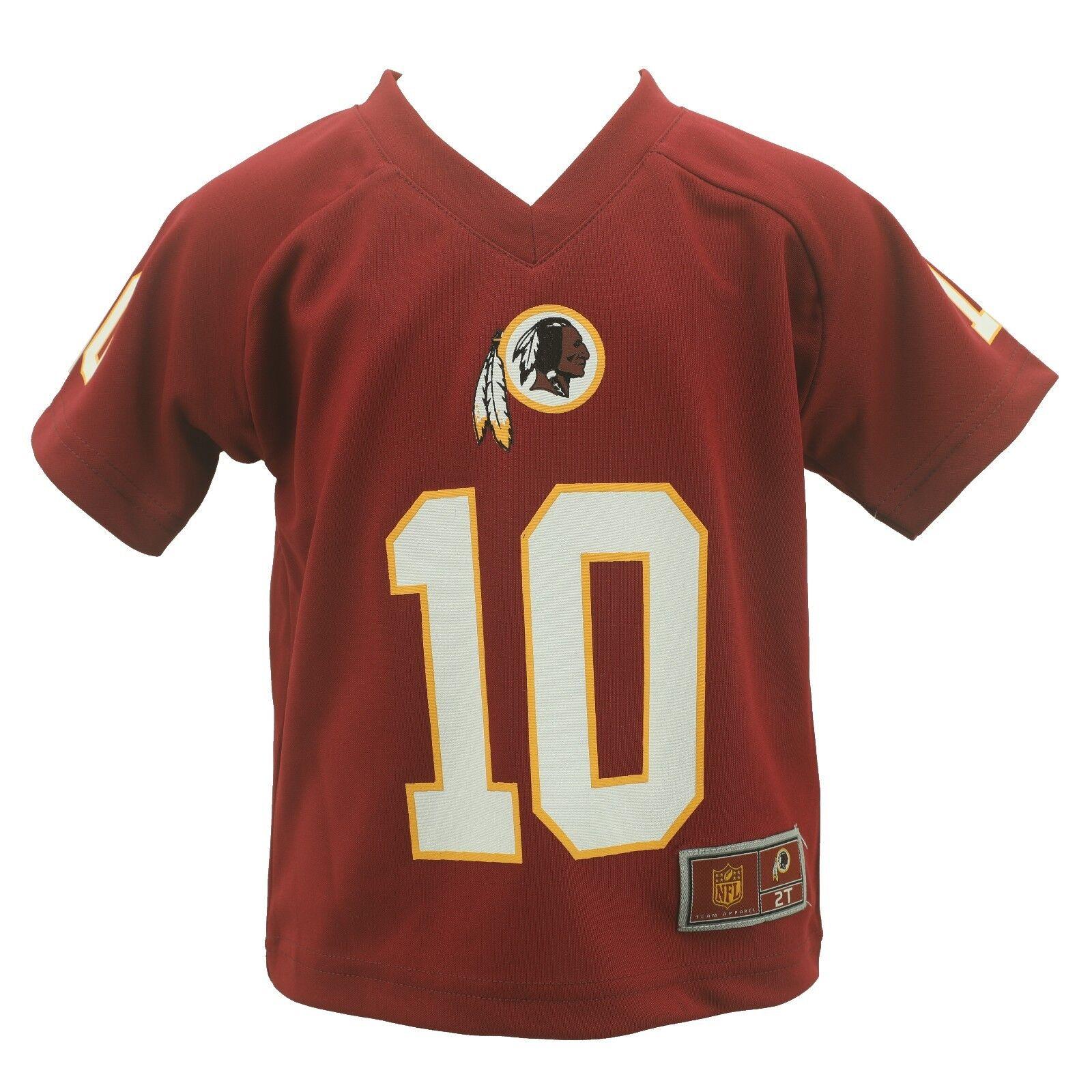 buy popular 0eb7e 42ec4 Details about Washington Redskins Kids Infant Toddler Size Griffin RG3  Official NFL Jersey New