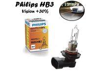 2x Philips H3 100W 12V PK22s 12455RAC1 Clear White Scheinwerfer Halogen Lampe