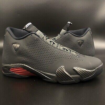 """Brand New Jordan 14 SE """"Black Ferrari/Bred/Last Shot"""" DS Size 9.5"""
