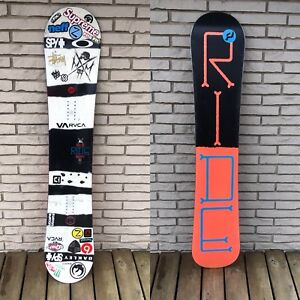 2014/15 RIDE control snowboard 164cm wide