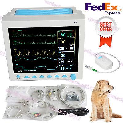 Capnograph Etco2 12.1veterinary Patient Monitor Vital Signs Icu Monitor Cms8000