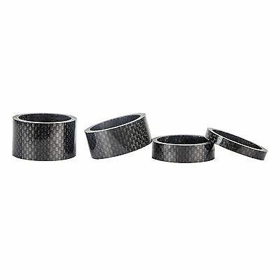 """FSA 1-1//8/"""" Black x 20mm Alloy Headset Spacer with Logo 28.6mm"""