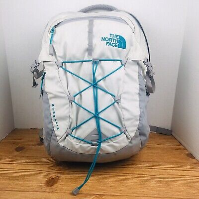THE NORTH FACE Borealis Flexvent Backpack Grey and Turquoise