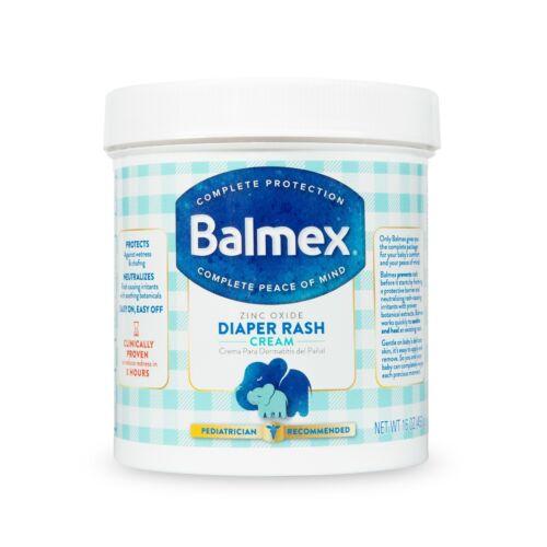 Balmex Complete Protection Baby Diaper Rash Cream, 16 oz+