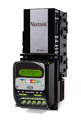Coinco Vantage Bill Acceptorcredit Card Reader Vc6  1s 5s 10s 20s