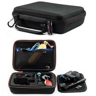 Digicharge Carry Case For GoPro Hero 8 7 6 5 4 3+ 3 2 Action Cam Go Pro HD Small