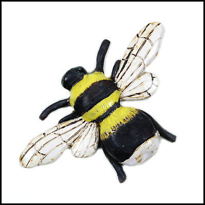 Bee Wall Plaque by Zoo Ceramics for Interior and Exterior Design - Garden Art