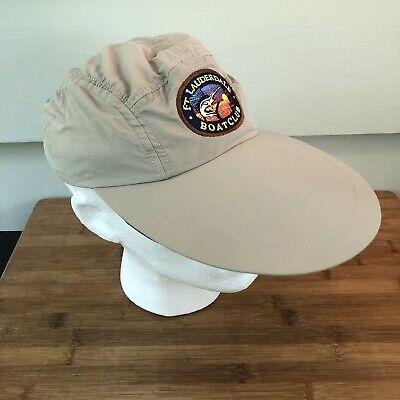 Vintage Sportfish Traveler Clothing Co Longbill 5 Panel Cap Hat Made USA