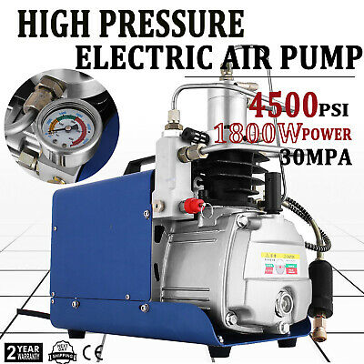 Yong Heng 110v 30mpa Air Compressor Pump 4500psi High Pressure Airgun Scuba Pcp