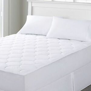 quilted waterproof mattress pad fits 16 inch deep