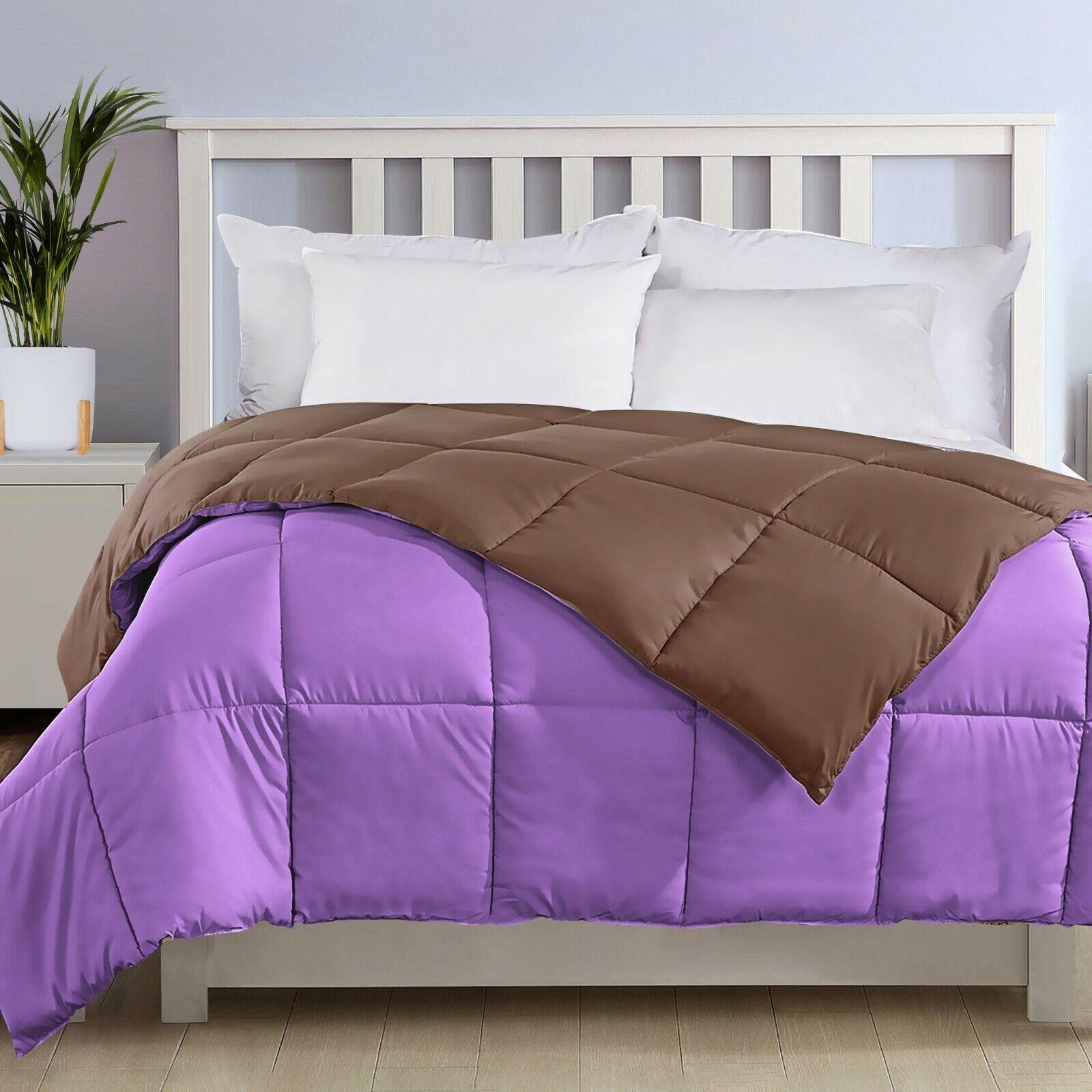 Ultra Soft Down Alternative Comforter Quilted Duvet Insert All Season Ebay