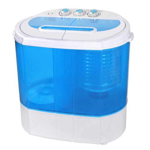 Compact Portable Twin Tub Washing Machine Top load 10lbs Washer Gravity Drain Home & Garden