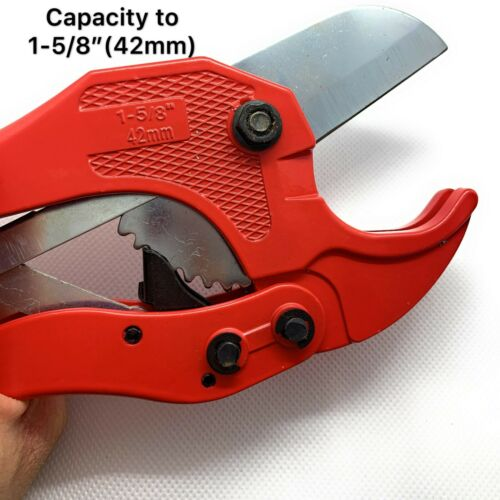 Heavy-Duty PVC Pipe Cutter