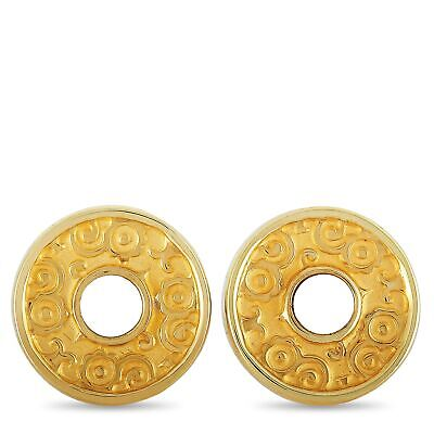 Carrera y Carrera Alegrias 18K Yellow Gold and Mother of Pearl Earrings