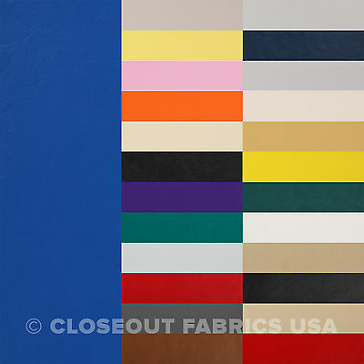 Marine Vinyl Fabric - Boat Auto Outdoor Upholstery - 33 Colors