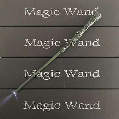 Harry Potter Hogwarts Dumbledore Magic Wand Wizard  w/ LED Cosplay
