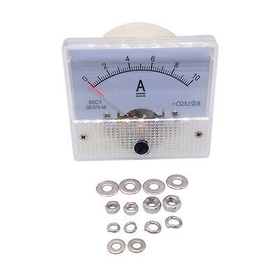 Us Stock Analog Panel Amp Current Ammeter Meter Gauge 85c1 0-10a Dc