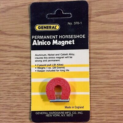 General Brand Permanent Horseshoe Alinco Magnets Number 370-1