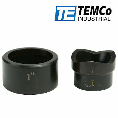 Temco 1 Conduit Punch And Die For Hydraulic Knock Out Driver 34-16 Thread