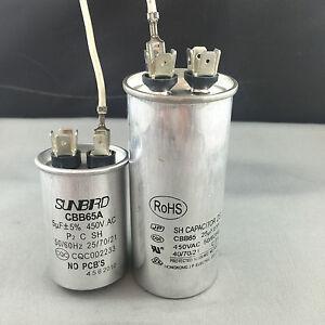 AIR-CONDITIONER-CBB65-25-5UF-DUAL-CAP-450Volt-Motor-Start-Run-Capacitor