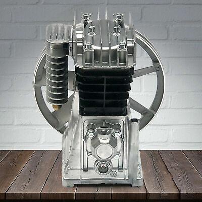 2hp Air Compressor Pump 1.5kw Piston Twin Cylinder Air Compressor Head Pump