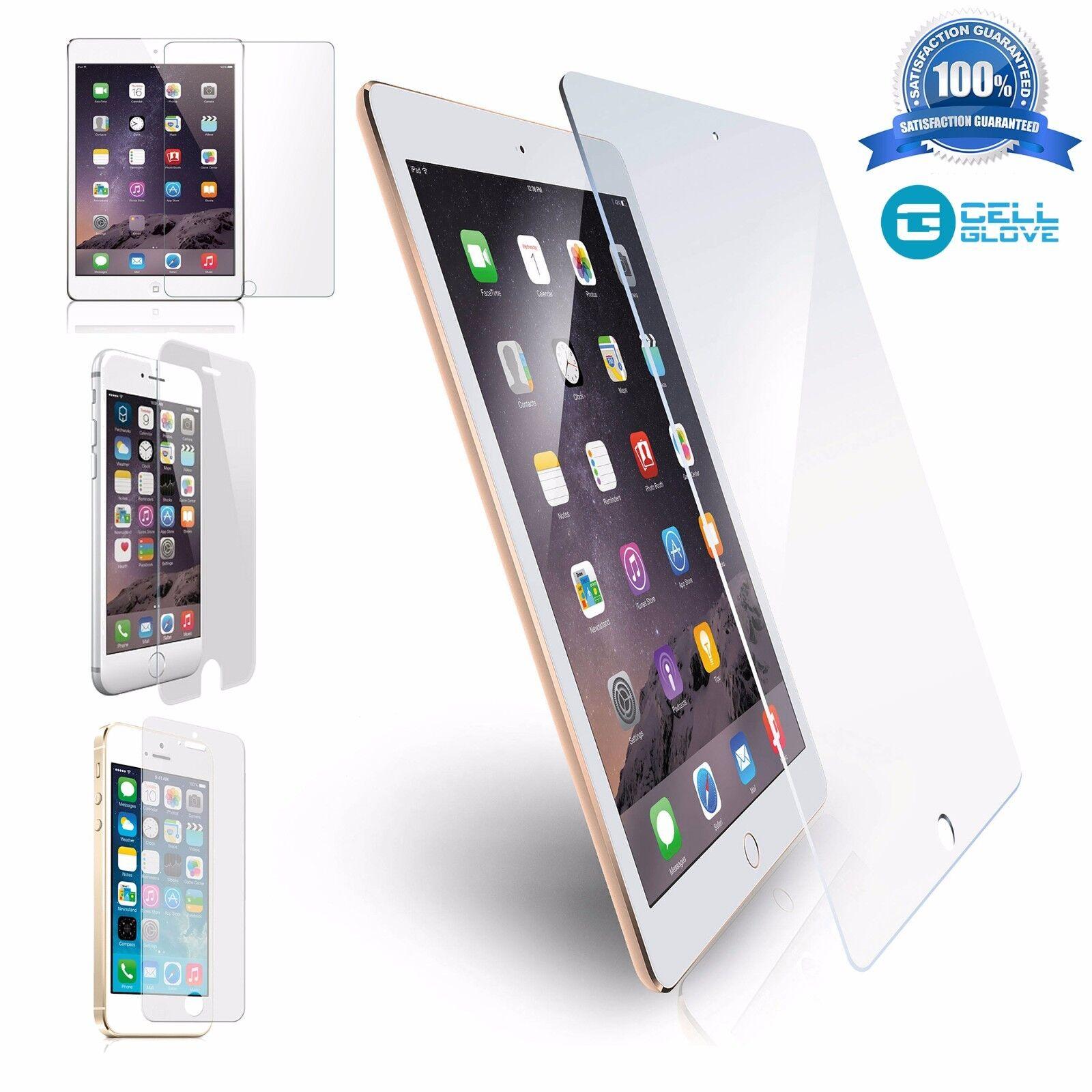 9H Premium HD Tempered Glass Screen Protector for Apple iPad 4 3 2/&Mini /&Air