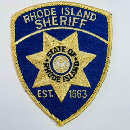 Rhode Island Sheriff Patch (A5)