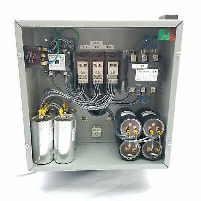 30hp Cnc Balanced 3 Phase Rotary Converter Panel 10 Year Warranty
