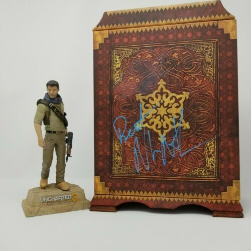 NOLAN NORTH SIGNED DRAKES UNCHARTED FIGURE PS4 EXCLUSIVE COA NATHAN DRAKE