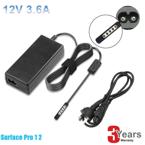 windows tablet - AC Adapter Power Supply Charger for Microsoft Surface Pro 1 2 Windows 8 Tablet G